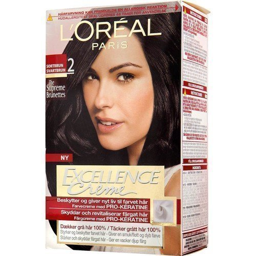 L'Oréal Paris Excellence Crème 2 Black Brown