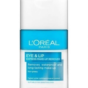 L'Oréal Paris Eye & Lip Express Make Up Remover Silmä Ja Huulimeikinpoistoaine 125 ml