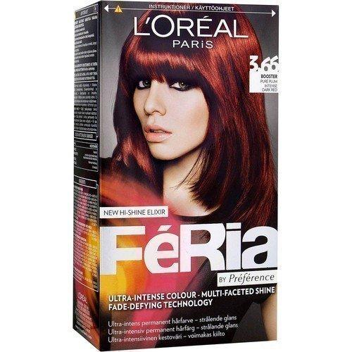 L'Oréal Paris Féria by Préférence 3.66 Booster Pure Plum Intense Dark Red