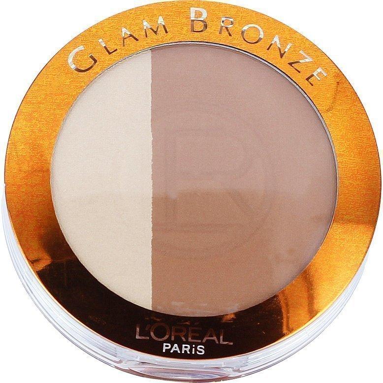 L'Oréal Paris Glam Bronze Duo 102 Brunette Harmony