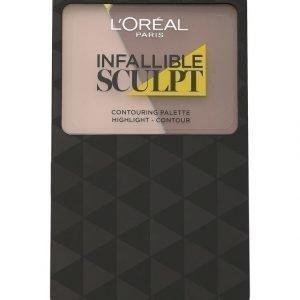 L'Oréal Paris Infalliable 24h Sculpt Contouring Paletti 10 g