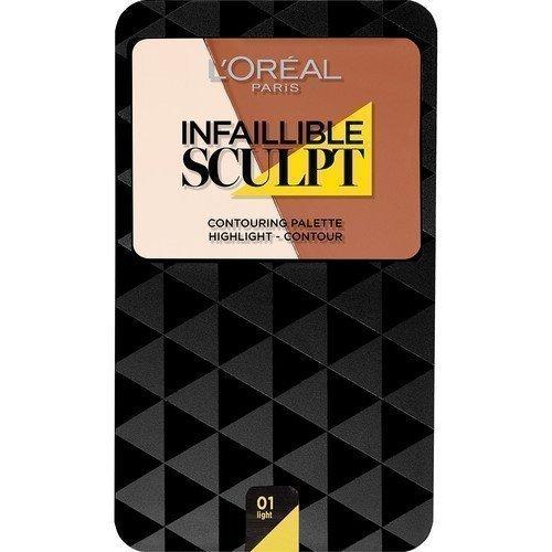 L'Oréal Paris Infallible Sculpt Palette Medium Dark