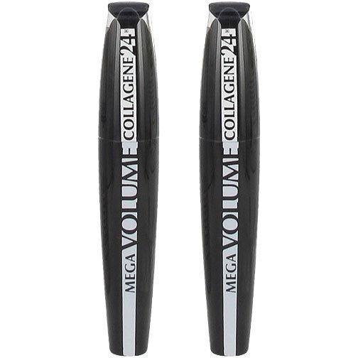 L'Oréal Paris Mega Volume Collagen 24h Mascara Duo Extra Black x 2