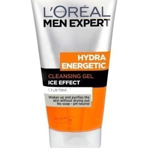 L'Oréal Paris Men Expert Hydra Energetic Foaming Cleansing Gel Puhdistusgeeli 150 ml