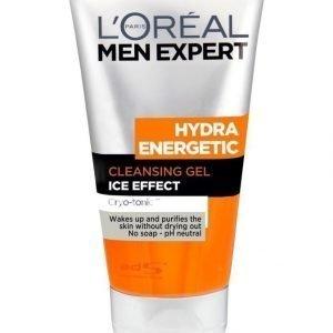 L'Oréal Paris Men Expert Hydra Energetic Foaming Cleansing Gel Puhdistusgeeli 150 ml