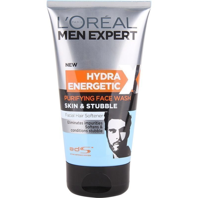 L'Oréal Paris Men Expert Hydra Energetic Purifying Face Wash Skin & Stubble 150ml