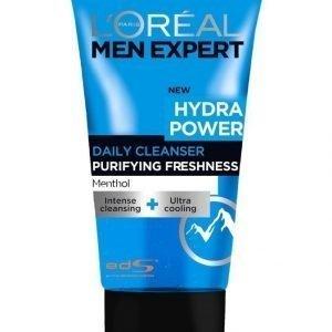 L'Oréal Paris Men Expert Hydra Power Raikastava Kasvojenpuhdistusgeeli 150 ml