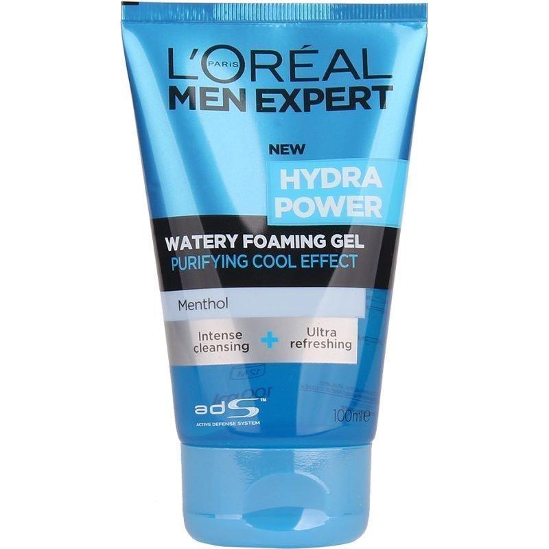 L'Oréal Paris Men Expert Hydra Power Watery Foaming Gel 100ml