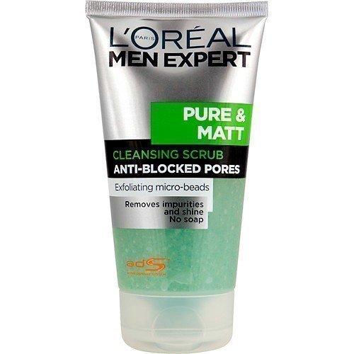 L'Oréal Paris Men Expert Pure & Matt Cleansing Scrub Anti-Blocked Pores