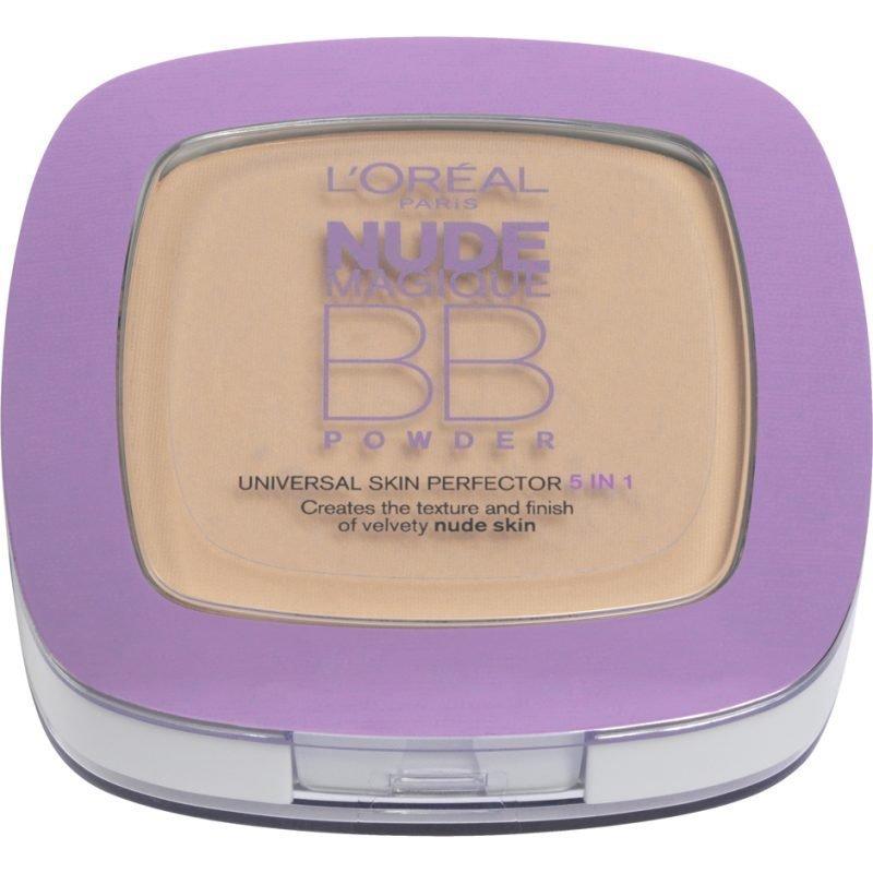 L'Oréal Paris Nude Magic BB Powder Medium 9g