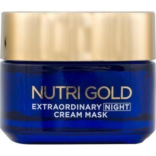 L'Oréal Paris Nutri Gold Extraordinary Night Cream Mask