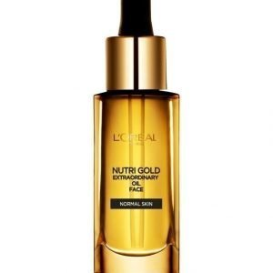 L'Oréal Paris Nutri Gold Extraordinary Oil Face Kasvoöljy 30 ml