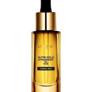 L'Oréal Paris Nutri Gold Extraordinary Oil Face Kasvoöljy 30 ml