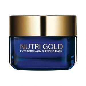 L'Oréal Paris Nutri Gold Extraordinary Sleeping Mask Yövoidenaamio 50 ml