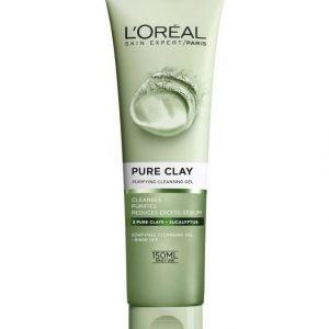 L'Oréal Paris Pure Clay Purifying Cleansing Gel Puhdistusgeeli 150 ml