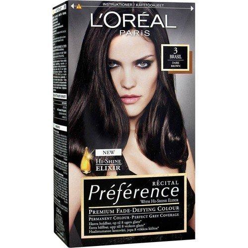 L'Oréal Paris Récital Préférence 3 Brasil Dark Brown