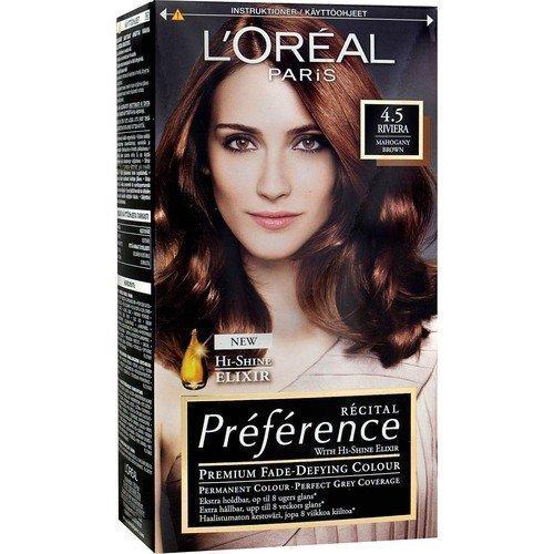L'Oréal Paris Récital Préférence 4.5 Riviera Mahogany Brown