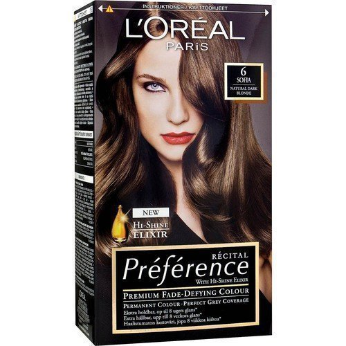 L'Oréal Paris Récital Préférence 6 Sofia Natural Dark Blonde