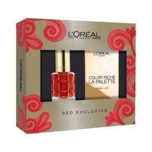 L'Oréal Paris Red Exclusive Xmas Box Lahjapakkaus