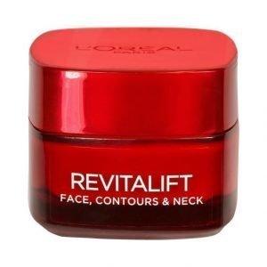 L'Oréal Paris Revitalift Face Contours & Neck Päivävoide 50 ml