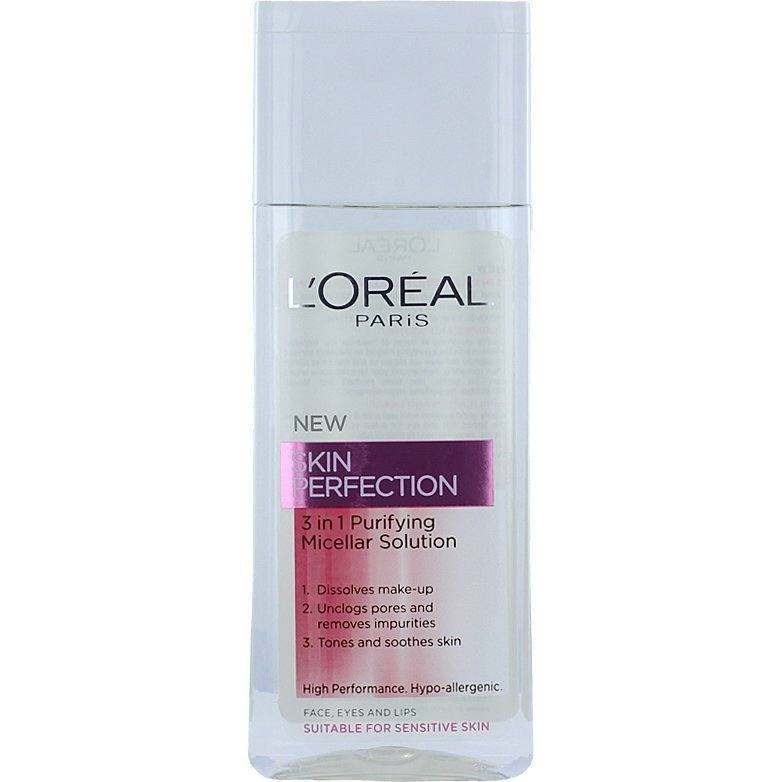 L'Oréal Paris Skin Perfection Purifying Micellar Cleansing Water (Sensitive Skin) 200ml