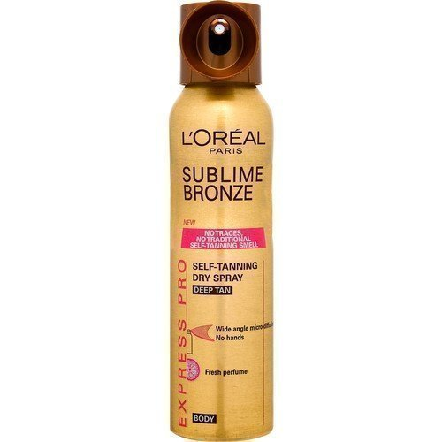 L'Oréal Paris Sublime Bronze Self-tanning Dry Spray Mist for Body