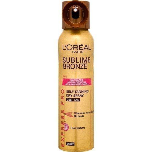 L'Oréal Paris Sublime Bronze Self-tanning Dry Spray Mist for Body