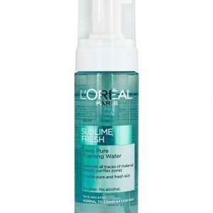 L'Oréal Paris Sublime Fresh Deep Pure Puhdistusvaahto Normaalille Ja Sekaiholle 150 ml