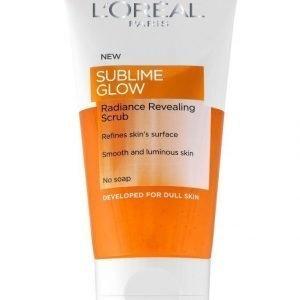 L'Oréal Paris Sublime Glow Radiance Revealing Scrub Kuorintageeli 150 ml