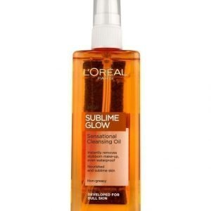 L'Oréal Paris Sublime Glow Sensational Cleansing Oil Puhdistusöljy 150 ml