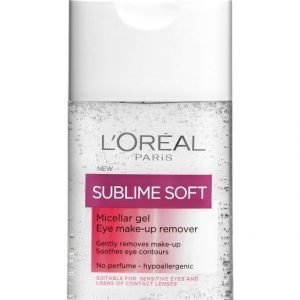 L'Oréal Paris Sublime Soft Micellar Gel Silmämeikinpoistogeeli 125 ml