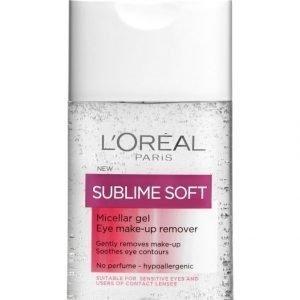 L'Oréal Paris Sublime Soft Micellar Gel Silmämeikinpoistogeeli 125 ml