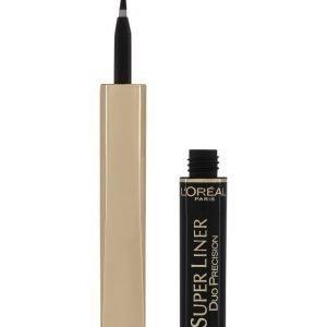 L'Oréal Paris Super Liner Duo Silmänrajaustussi Extra Black