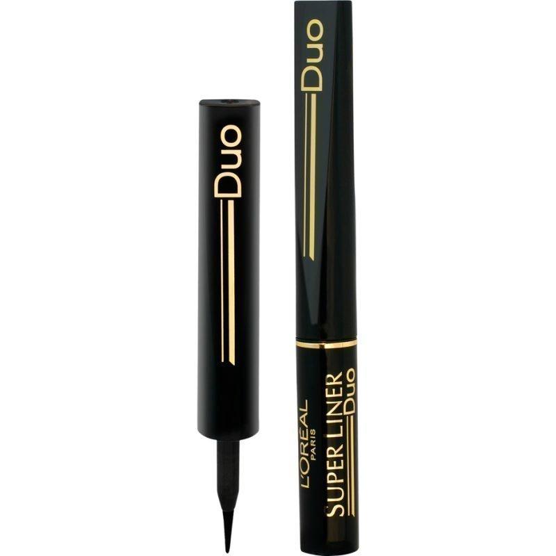 L'Oréal Paris Super Liner Eyeliner 18 Extra Black Duo 2ml