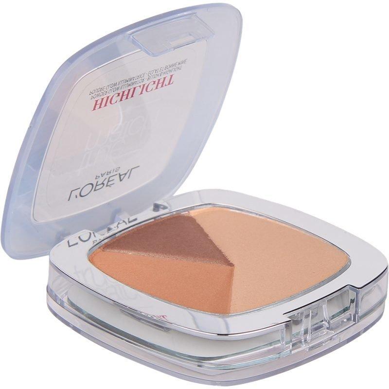 L'Oréal Paris True Match Highlight Powder Glow Illuminator 101W Golden Glow 9ml