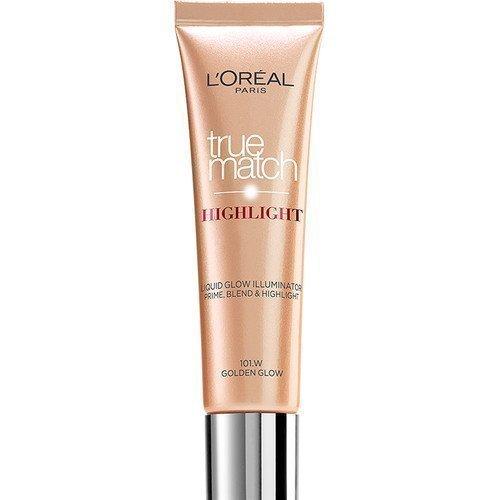L'Oréal Paris True Match Lumi Liquid Glow Illuminator 101W Golden Glow