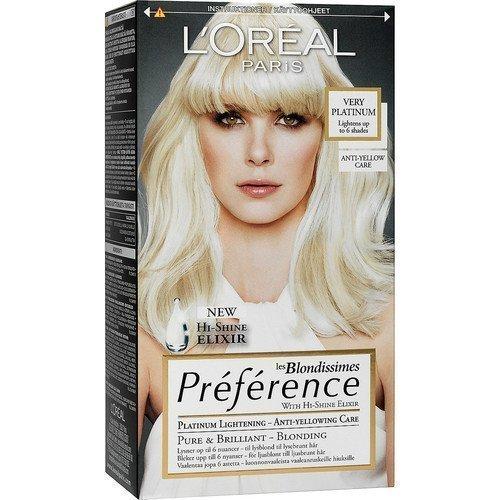 L'Oréal Paris les Blondissimes Préférence Very Platinum