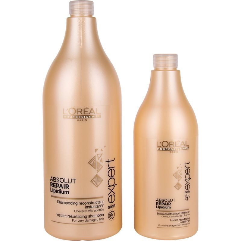 L'Oréal Professionnel Absolut Repair Lipidium Duo Shampoo 1500ml Conditioner 750ml