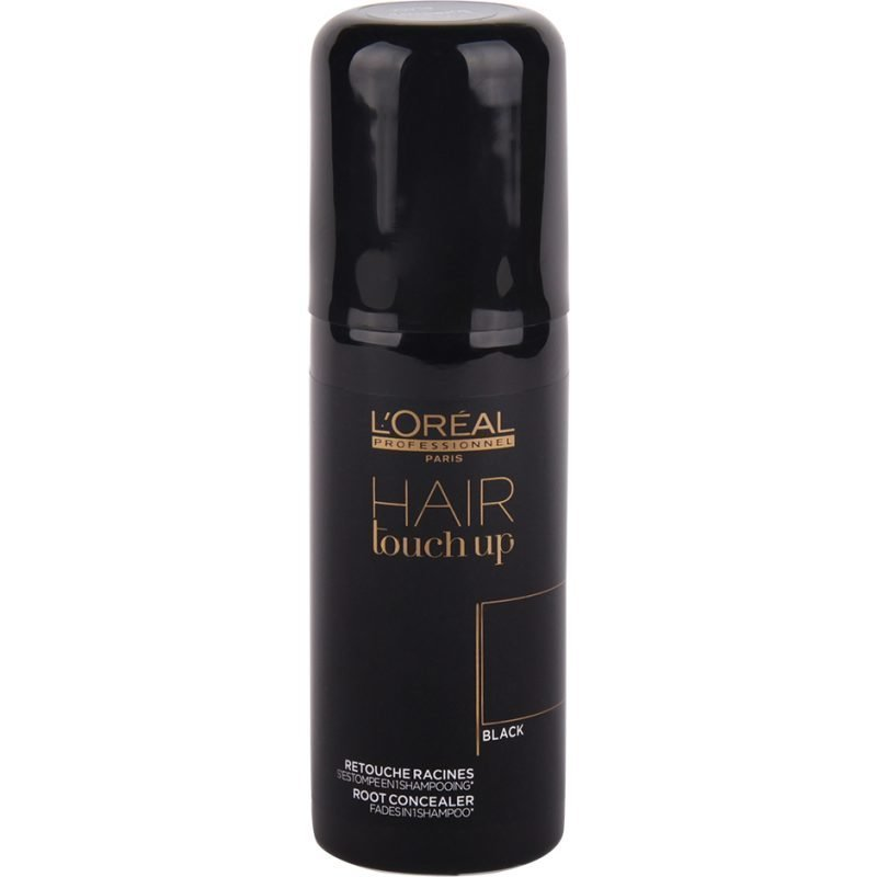 L'Oréal Professionnel Hair Touch Up Root Concealer Black 75ml