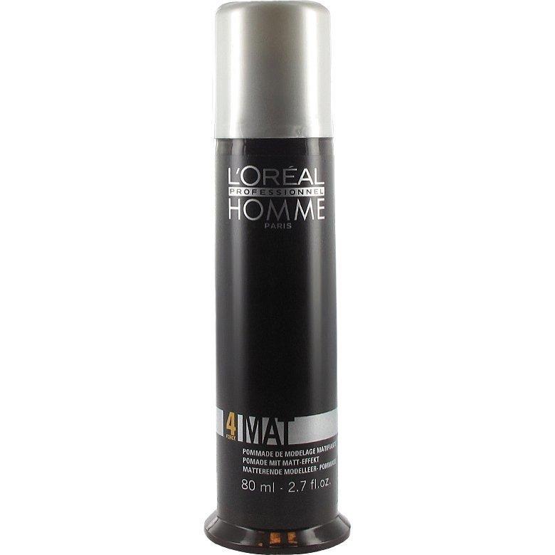 L'Oréal Professionnel Homme 4  Mat Stylingpaste 80ml