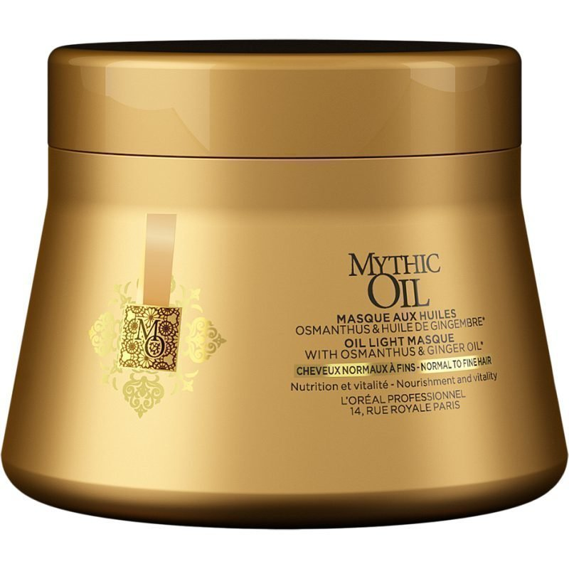 L'Oréal Professionnel Mythic Oil Oil Light Masque 500ml