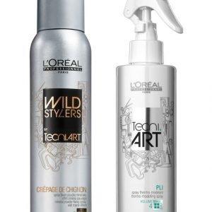L'Oréal Professionnel Tecniar Tecni.Art Xxl Volume Kit Muotoilutuotepakkaus 200 ml + 190 ml