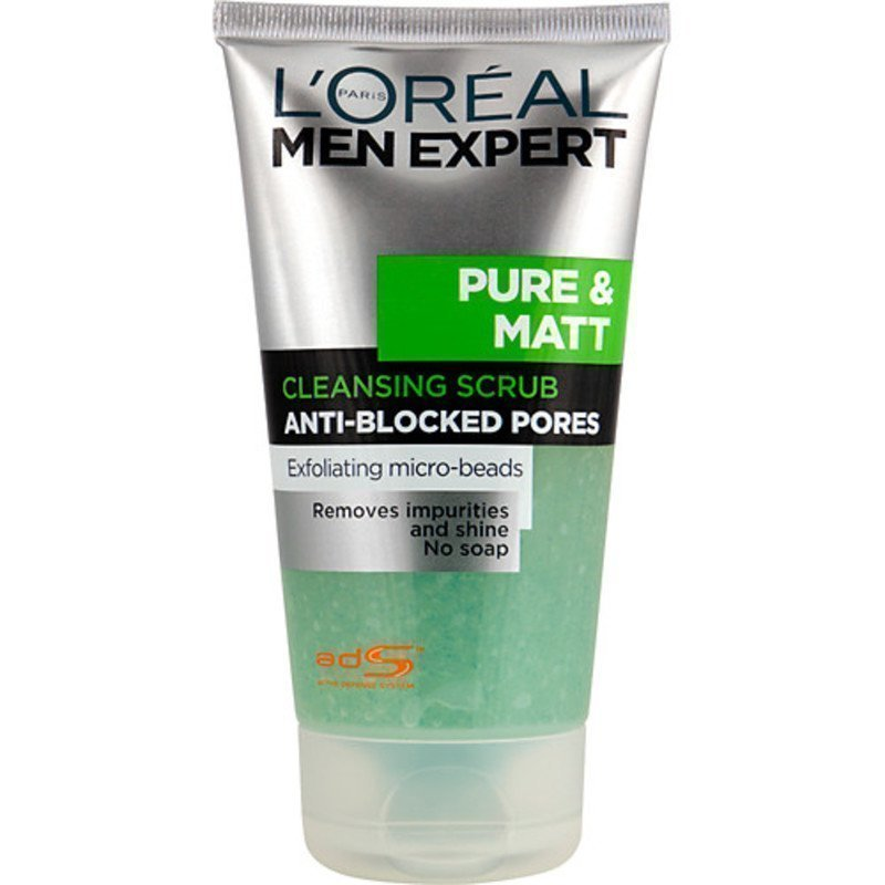 L'Oréal Pure Matt Deep Cleansing Gel Soft Scrub