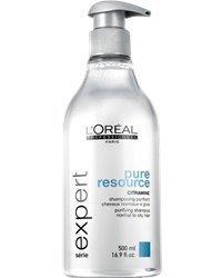 L'Oréal Pure Resource Shampoo 500ml