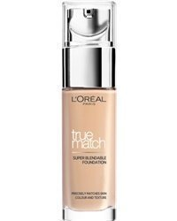 L'Oréal True Match Foundation W7 Golden Amber