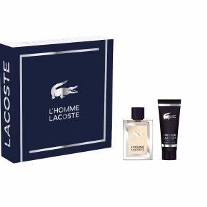 Lacoste L' Homme Miesten Tuoksupakkaus: Edt 50 Ml + Suihkugeeli 50 Ml