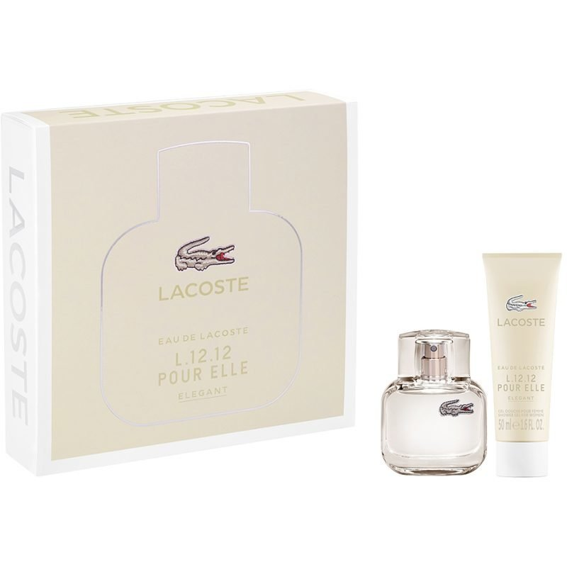 Lacoste L.12.12 Elle Elegant EdT 30ml Shower Gel 50ml