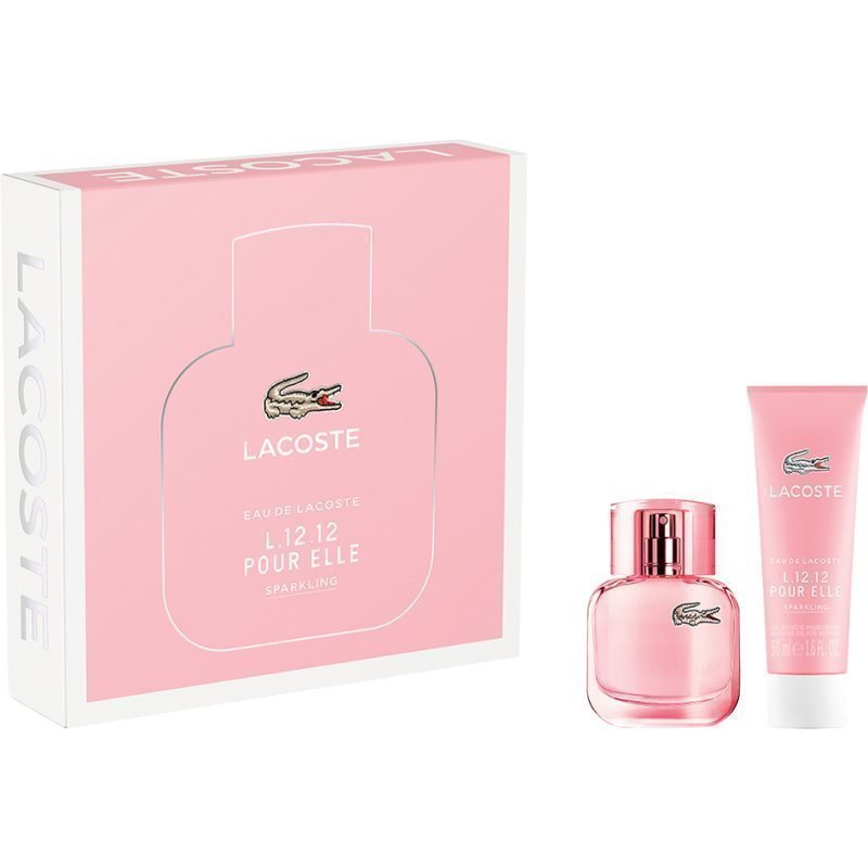 Lacoste L.12.12 Elle Sparkling EdT 30ml Shower Gel 50ml