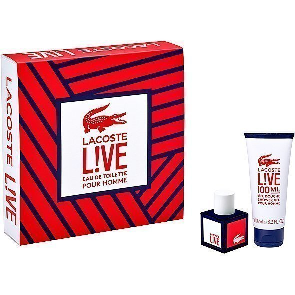 Lacoste Live EdT 40ml Shower Gel 100ml