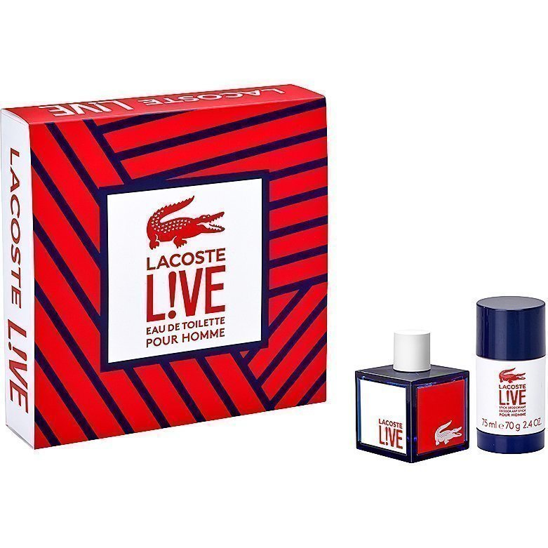 Lacoste Live EdT 60ml Deostick 75ml
